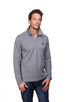 Polo homme manches longues Colmar