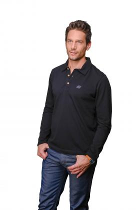 Polo homme manches longues #59000 Lille