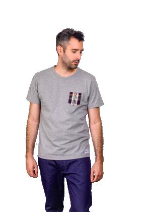 T-Shirt Homme avec poche en Kelsch alsacien